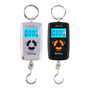 45kg x 10g High Precision LCD Portable Digital Backlight Electronic Portable Scale Random Color Delivery