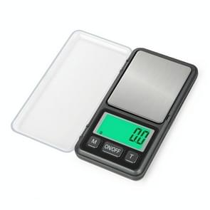 Mini Portable Jewelry Scale Precision LCD Electronic Digital Pocket Scales, Specification:500g/0.1g