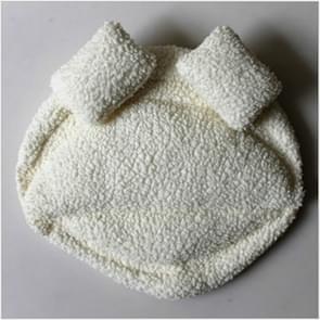 Pasgeboren studio fotografie aided styling mat baby Props deken (wit)