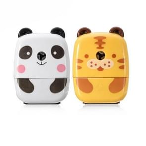 Animal Cartoon Hand Crank Pencil Sharpener Desk Home Office School Stationary, Random Color Delivery