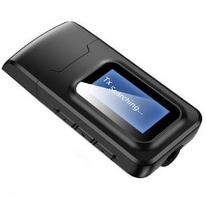 2 in 1 Bluetooth 5.0 Adapter USB Drive-free wireless audio transmitter receiver met LCD Display