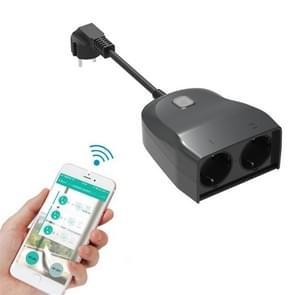 C119 Smart WIFI Outdoor Waterproof Socket  Ondersteuning Alexa Voice Control  EU Plug