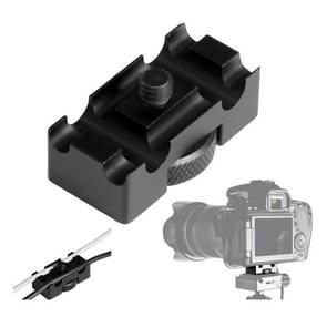 BEXIN Camera Quick Release Plate Data Cable Fixer Holder for Canon EOS 5D Mark IV