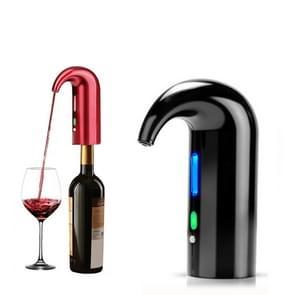 Rode wijn USB oplaadbare quick decanter intelligente wijn karaf  kleur: zwart