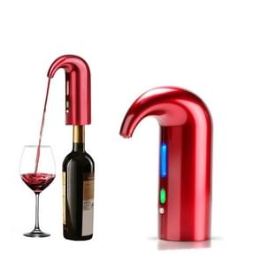 Rode wijn USB oplaadbare quick decanter intelligente wijn karaf  kleur: rood