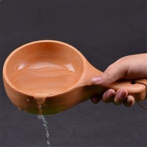 Bad Massief hout water Scoop Sauna Water Spoon