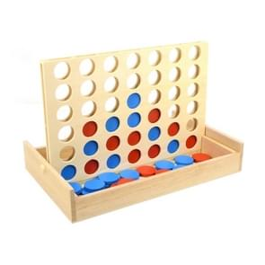 Houten internationale kinderen educatief speelgoed verticale link Board Checkersers