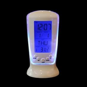Multifunctionele Home Desktop LED wekker met kalender & temperatuur & tijdweergave