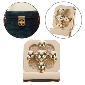 10 PCS Plum Lock handtas bagage legering slot