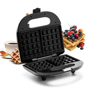 Household 3 in 1 Sandwich Maker Breakfast Machine Waffle Machine Toaster, Specification:EU Pulg