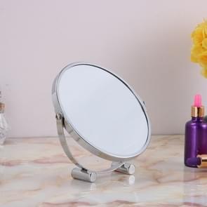 Desktop Double Sided Makeup Mirror Bathroom Home Office Desktop Decorative Mirror