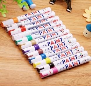 12 PCS Universal Creative Multifunctional Marking Pen Painting Pen Album DIY Graffiti Pen Marker Pen(12 colors)