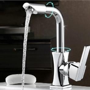 360 roterende moderne keuken badkamer ijdelheid enkele handvat kraan