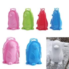 Penguin 3D Snow & Sand Mould Tool Snow Ball Maker Kids Outdoor Sports Toy, Random Color Delivery