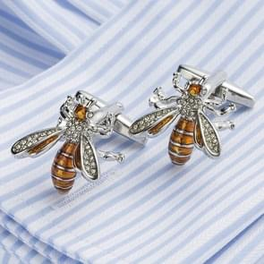1 paar glazuur Bee Franse Shirt Manchetknopen voor mannen
