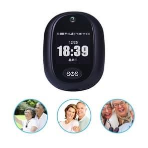 REACHFAR RF-V45-B Mini GPS Smart Tracker Hanger  Ondersteuning SOS / Camera / Health Management / 4G LTE(Zwart)