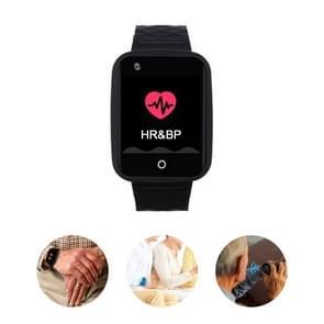 REACHFAR RF-V46-B GPS Smart Tracker WatchBand  Support SOS / Camera / Health Management / 4G LTE / Bloeddruk / Hartslag (Zwart)