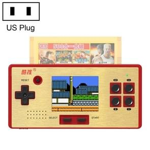 CoolBaby RS-98 89 in 1 Classic Games Retro Card Handheld Game Console with 3.0 inch Color Screen, Support AV Output, US Plug