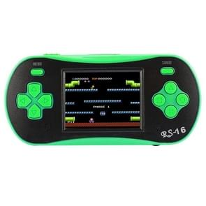 RS-16 260 in 1 Classic Games 8-bit Arcadsic Graphics Handheld Game Console with 2.5 inch TFT Color Screen(Green)