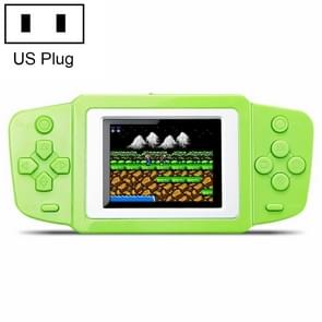 CoolBaby RS-33 268 in 1 Classic Games Handheld Game Console with 2.5 inch Color Screen, US Plug(Green)