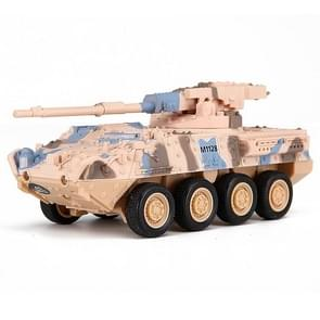 Creative 8021 Artillery Vehicle Remote-controlled Tank Military Model Toy Car (Yellow)