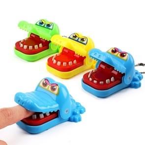 3 PCS Cartoon Mini Crocodile Bite Hand Nieuwigheid Tricky Toys  Random Color Delivery