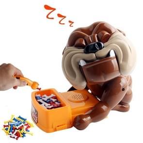 Cartoon Creative Pas op voor de Hond Bijt Hand Nieuwigheid Tricky Toys  Middelste Maat