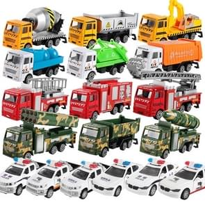 3 PCS Model Car Toy Construction Engineering Vehicles, Random Style Delivery