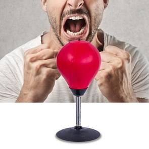 Desktop Punching Ball Stress Relief Buster Speed Fitness Vertical Boxing Ball with Suction Holder