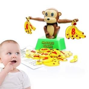 Monkey Banana Match spel evenwicht schaal educatief speelgoed voor kinderen