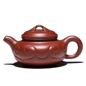 Ruyi patroon handgemaakte Yixing klei theepot theeketel  capaciteit: 200 ml