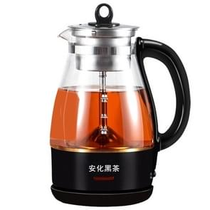 Fully Automatic Small Capacity Glass Electric Steam Teapot Black Tea Boiled Teapot (Black Printing)