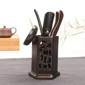 Home Decoration Ebony Wood Tea Set tea Tray Accessories Tea Clip (34-1)