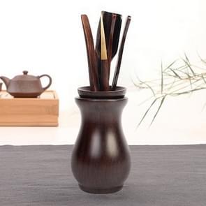 Home Decoration Ebony Wood Tea Set tea Tray Accessories Tea Clip (F85-1)
