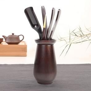 Home Decoration Ebony Wood Tea Set tea Tray Accessories Tea Clip (F81-1)