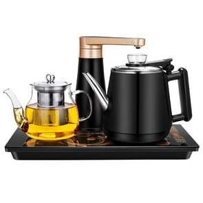 Automatic Stainless Steel Household Pumping Electric Kettle Tea Set (Black Rubber)