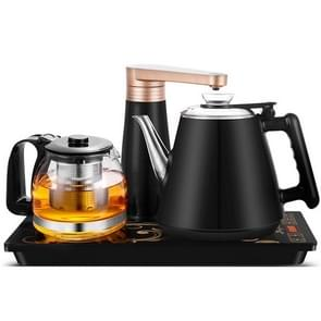 Automatic Stainless Steel Household Pumping Electric Kettle Tea Set (Dark Blue Rubber)