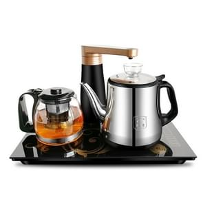 Automatic Stainless Steel Household Pumping Electric Kettle Tea Set (Stainless Steel)