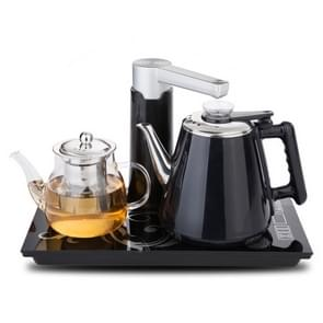 Automatic Stainless Steel Household Pumping Electric Kettle Tea Set (Black Warm)