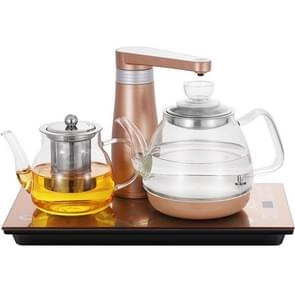 Fully Automatic Water Electric Kettle Glass Tea Maker Household Insulation Self-priming Pumping Kettle Tea Set (Glass Insulation)