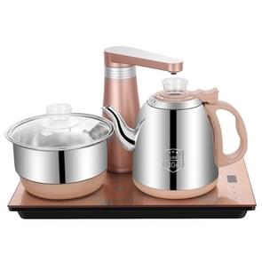 Fully Automatic Water Electric Kettle Home Cooking Water Bottle Pumping Electric Tea Stove Set(Stainless Steel Gold)