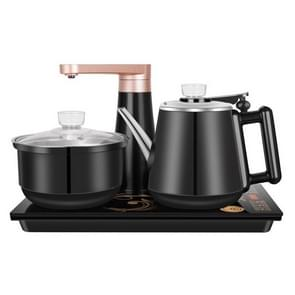 Fully Automatic Water Electric Kettle Home Cooking Water Bottle Pumping Electric Tea Stove Set (Black Rubber)