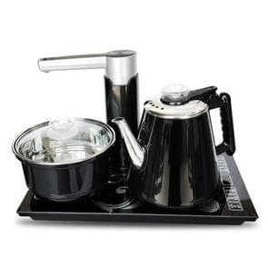 Fully Automatic Water Electric Kettle Home Cooking Water Bottle Pumping Electric Tea Stove Set (Black Disinfection)