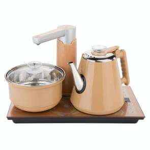 Fully Automatic Water Electric Kettle Home Cooking Water Bottle Pumping Electric Tea Stove Set (Gold Disinfection)