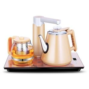 Intelligent Induction Cooker Self-absorption Kettle Household Pumping Tea Set (Gold Rubber)