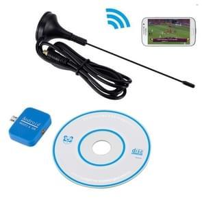 Voor Android-telefoons USB dongle SDR + R820T2 DVB-T SDR TV-tuner radio-ontvanger heet (blauw)