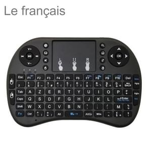 Ondersteuning taal: Franse i8 Air Mouse draadloos toetsenbord met touchpad voor Android TV Box & Smart TV & PC Tablet & Xbox360 & PS3 & HTPC/IPTV