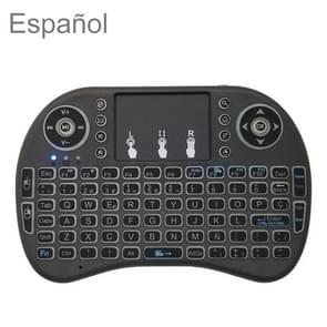 Ondersteuning taal: Spaans i8 Air Mouse draadloos toetsenbord met touchpad voor Android TV Box & Smart TV & PC Tablet & Xbox360 & PS3 & HTPC/IPTV