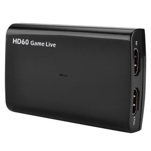 EZCAP266 USB 3.0 UVC HD60 Game Live Video Capture (Zwart)
