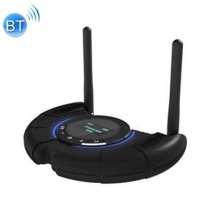 TX800 Glasvezel Bluetooth 5.0 Transmitter Receiver Audio Adapter met Dual Antennas & OLED Display